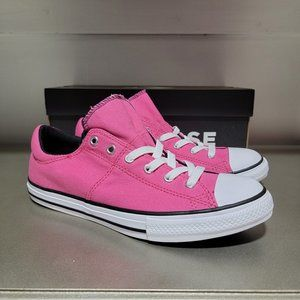 Converse CTAS Maddie Stars Pink Youth Sneaker NWT